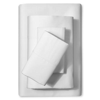 Thomas Paul 300 TC Solid Sheet Set - White (Cal King)
