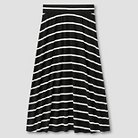 Girls' Striped Maxi Skirt Cat & Jack™ - Black