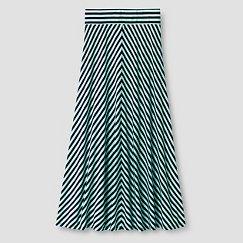 Girls' Striped Maxi Skirt Cat & Jack™ - Aqua