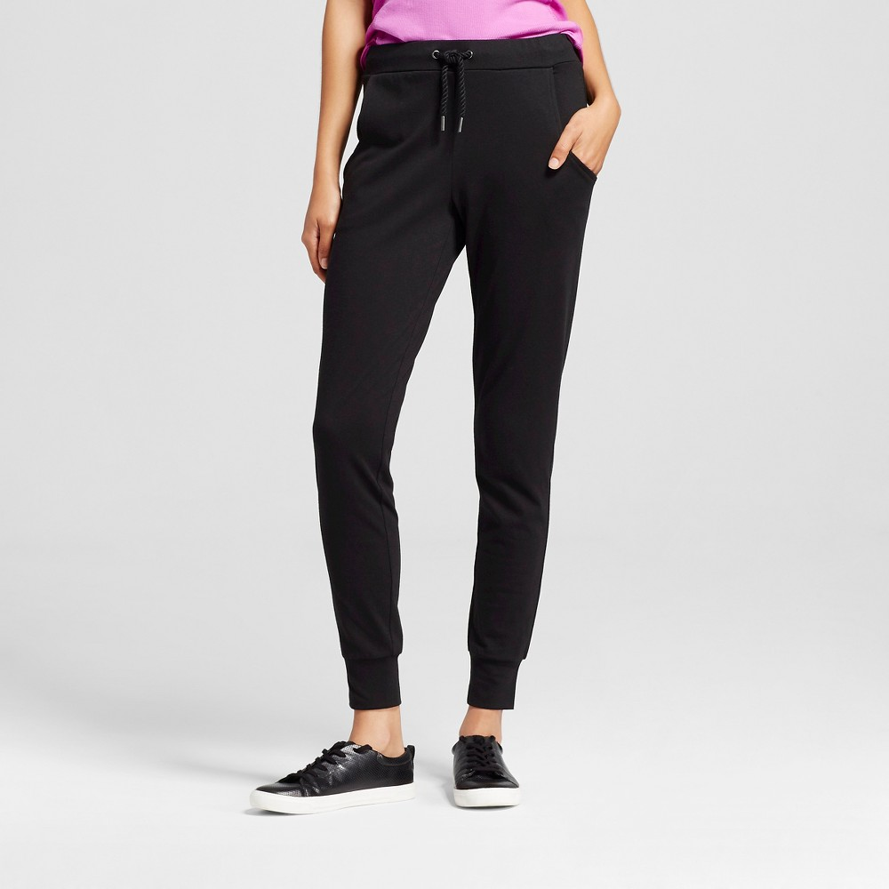Women's Knit Jogger Pant Black S - C9 Champion, Size: Small