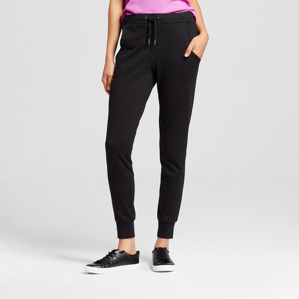 Women's Knit Jogger Pant Black M - C9 Champion, Size: Medium