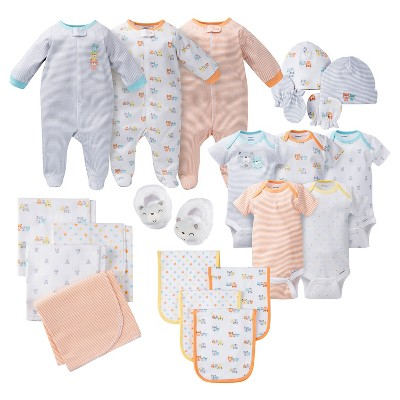 Gerber® Baby 21 Piece Bear Layette Gift Set – Grey 0-3M