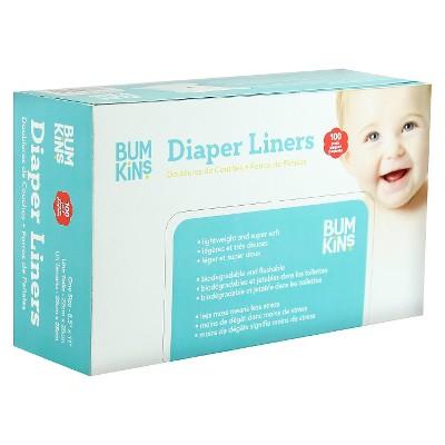 Bumkins Diaper Liners - 100 Count