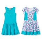 Girls' Jersey Skater Dresses - 2 pack - Young Hearts
