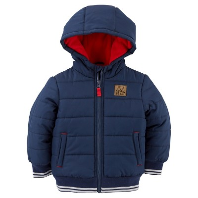 Just One You™Made by Carter's® Boys' Puffer Jacket - Navy 18M