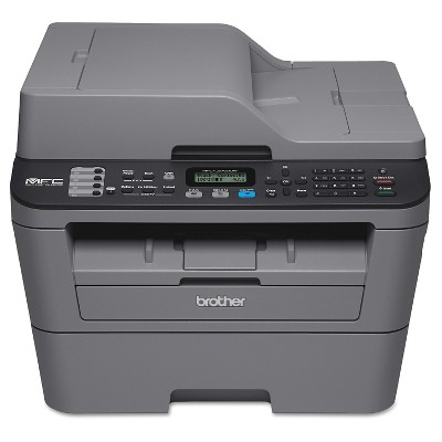 Brother MFC-L2700DW Compact All-in-One Laser Printer - Grey (BRTMFCL270)