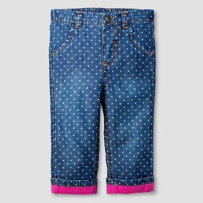 Female Jeans Cat & Jack Indigo 3-6 M