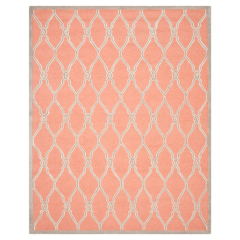 Safavieh Orli Area Rug Coral Ivory 9 39 X 12 39 Product Details