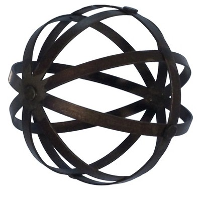 Metal Decorative Sphere - 6""