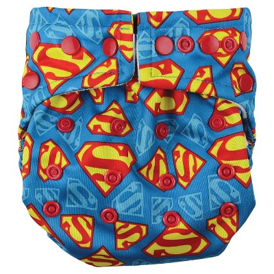 Bumkins DC Comics Snap-in-One Diaper, Superman