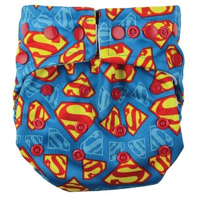 Bumkins DC Comics Snap-in-One Diaper, Superman