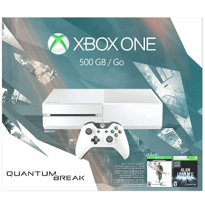 Xbox One 500GB Console - Special Edition Quantum Break Bundle