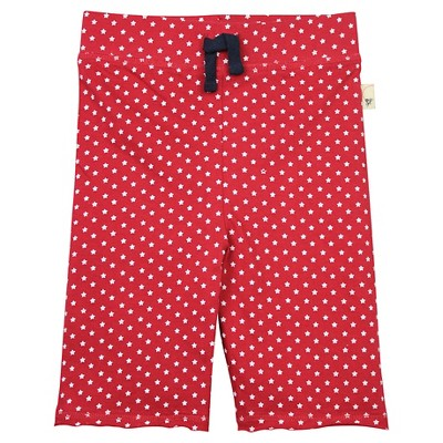 Burt's Bees Baby™ Star Capri Legging - Cranberry 3-6M