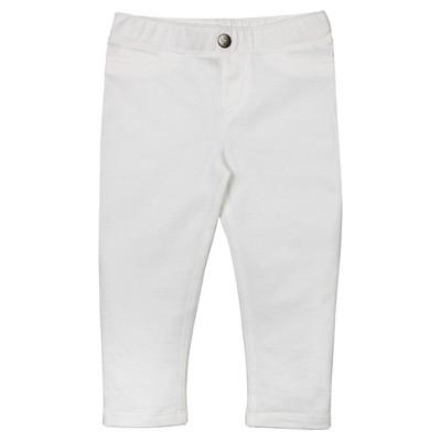 Burt's Bees Baby™ Capri Legging - White 0-3M
