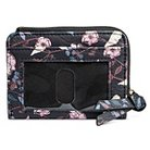 Credit Card Faux Leather Wallet  Mossimo  Supply  Wallet  Black  Floral