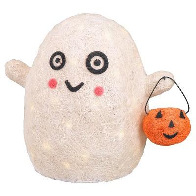 "Halloween 3D Lit Ghost - 14"""