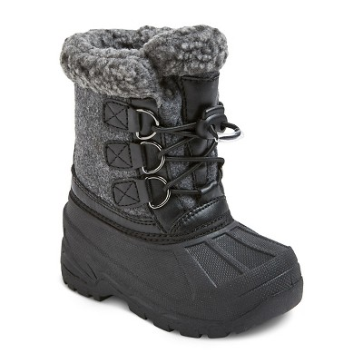 Toddler Boys' Leif winter boots Cat & Jack™ - Grey L (9-10)