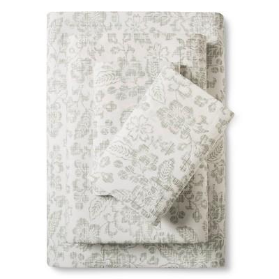 Stone Cottage Botanical Mae sheet set Queen Sage