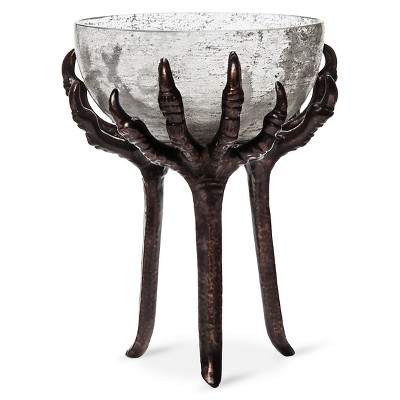 Halloween Tall Crow Feet Candy Bowl - Spritz™