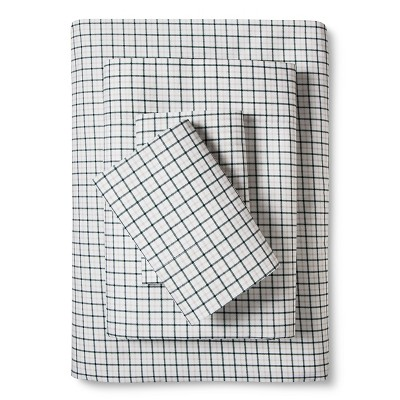 Eddie Bauer® Plaid Sheet Set - Green (King)