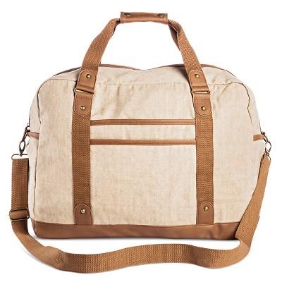 Women's Weekender Handbag Tan - Mossimo Supply Co.