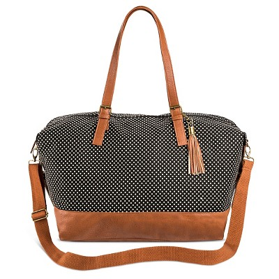 Women's Weekender Handbag Black - Mossimo Supply Co.