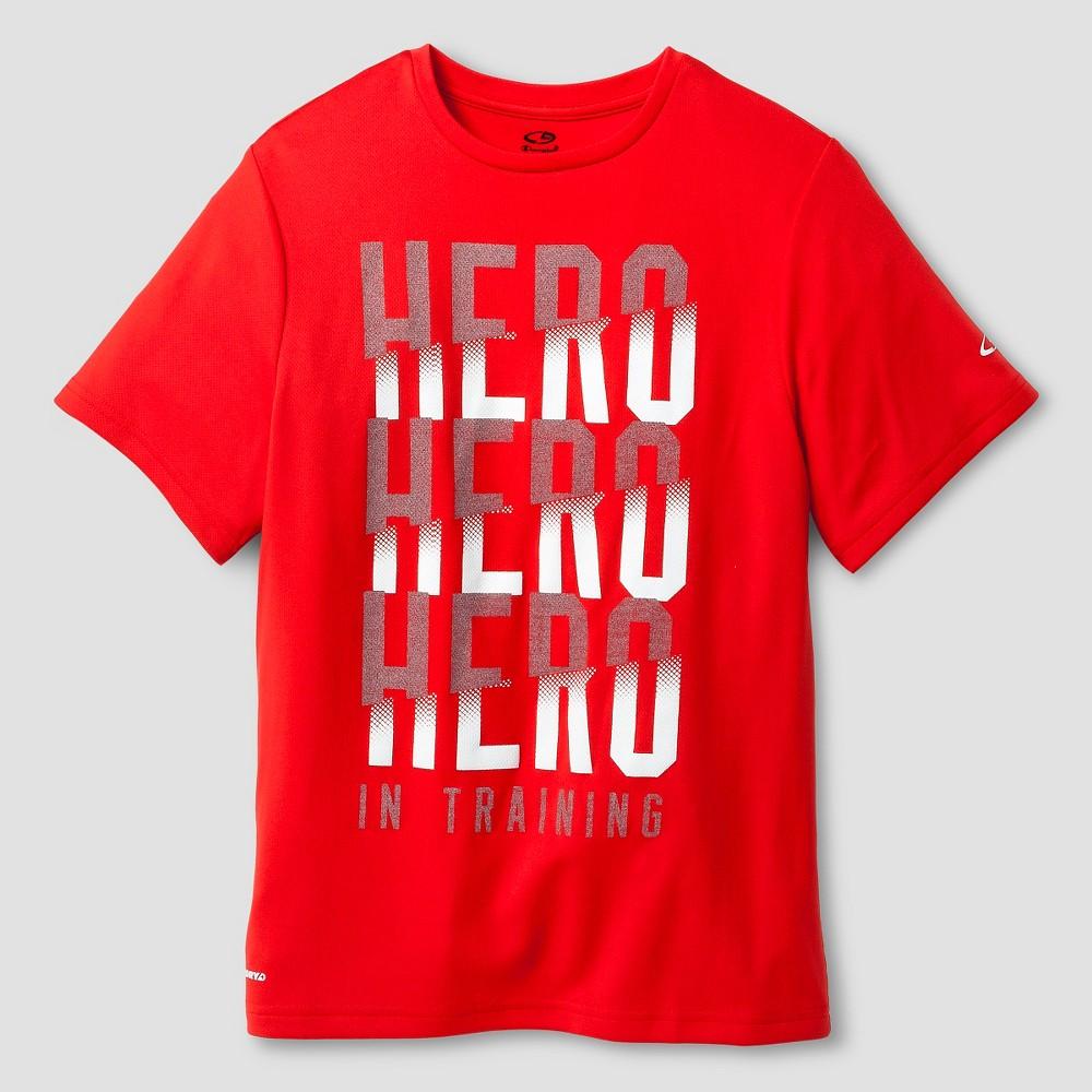 Activewear T-Shirts Red XS - C9 Champion, Boy's