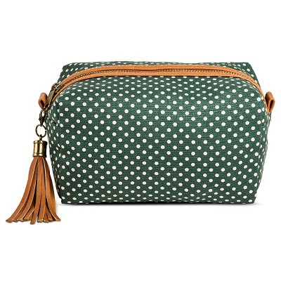 Women's Dot Pouch Clutch Green - Mossimo Supply Co.