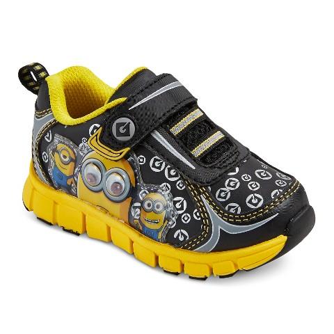 despicable me minion toddler boys sneaker yellow target