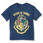 Harry Potter Boys' Wizard In Training Graphic Tee - Blue M