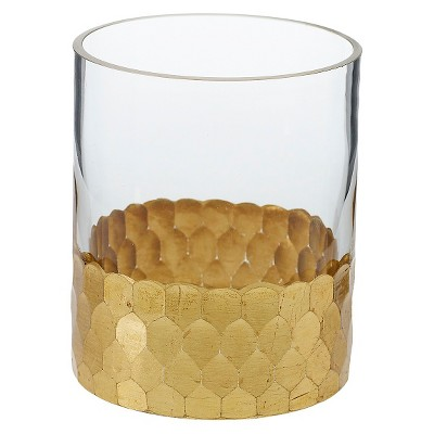 Vase Accent Decor Glass 4in