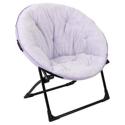 Fuzzy Kids Saucer Chair   Pillowfort