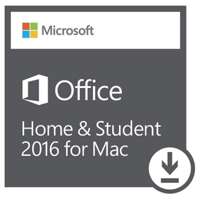 Microsoft Office Home and Student 2016 for Mac - Email Delivery - Digital Download
