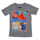 Finding Dory and Friends Toddler Boys' Tee Heather Grey - 2T