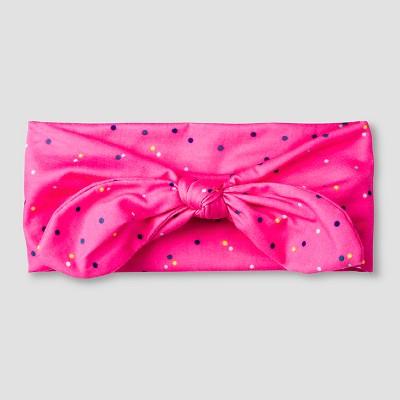 Girls' Floral Soft Bow Cat & Jack™ - Pink