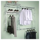 "Kio Storage 5"" Closet and Shelving Kit - Frost"