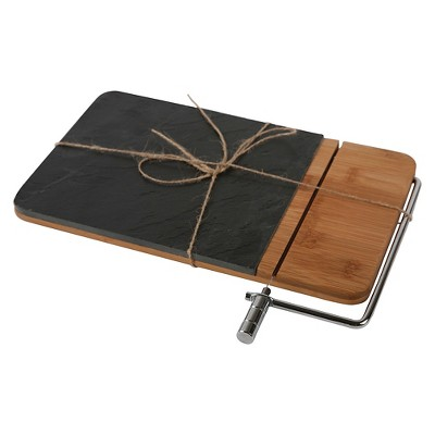 Core Home Slate Bamboo Cheese Board