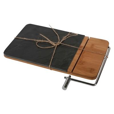 Core Home Slate Bamboo Cheese Board