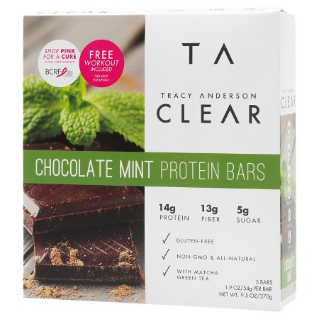 Tracy Anderson Chocolate Mint Protein Bars