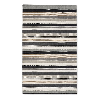 "Logan Accent Rug Grey (2'3""x3'9"") - Room Essentials™"