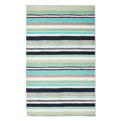 "Logan Accent Rug Cool (2'3""x3'9"") - Room Essentials™"
