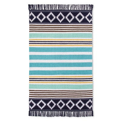 "Como Accent Rug Blue (2'6""x4') - Room Essentials™"