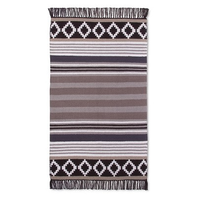 "Como Accent Rug Gray (2'6""x4') - Room Essentials™"