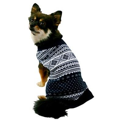 Pet Apparel Sweater XL Navy - Boots & Barkley™