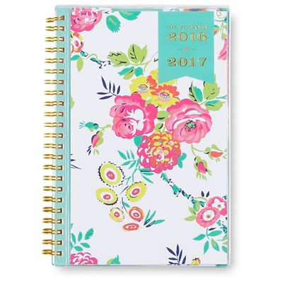 "Day Designer Weekly/Monthly Planner, 2016-2017, 144pgs, 5.5"" x 8.5"" - Multicolor"