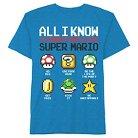 Boys' Nintendo Super Mario T-Shirt - Turquoise XS