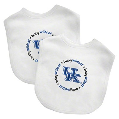 NCAA Kentucky Wildcats Baby Fanatic  Bib Set - 2 Pack