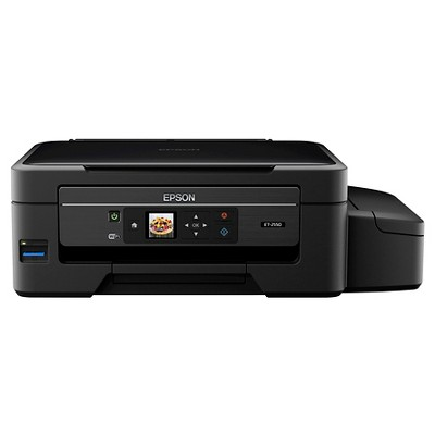 Epson® Expression ET-2550 EcoTank All-in-One Inkjet Printer - Black (EPSC11CE91201)