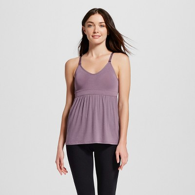 Women's Nursing Fluid Knit Sleep Cami  - Gilligan & O'Malley™ - Plum Wink M