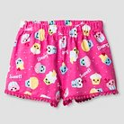 Toddler Girls' Cupcake Print Short - Pink